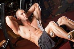 健身房锻炼 库存图片