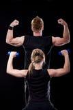 健身摆在 免版税库存图片