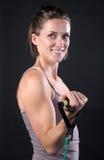 健身教师 免版税库存图片