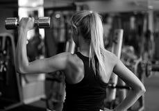健身教练员 免版税库存照片
