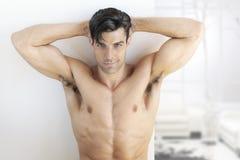 健身男性 免版税库存图片