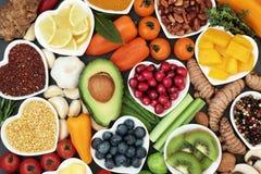 健身的健康食品 免版税库存图片