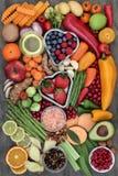 健身的健康食品 免版税库存照片