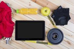健身的设备 免版税库存照片
