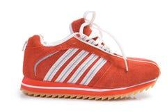 健身穿上鞋子培训 库存照片