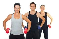 健身组人 免版税图库摄影