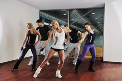 健身组 图库摄影