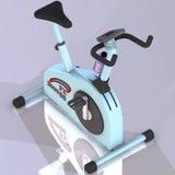 健身自行车 库存图片