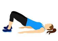 健身行使刺激 向量例证
