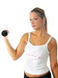 健身衡量妇女 库存图片