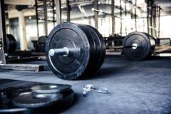 健身设备的特写镜头图象 库存图片