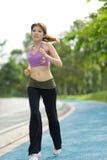 健身跑步的系列 免版税库存图片