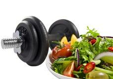 健身食物损失重量 图库摄影