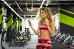 健身 妇女 体操 图库摄影