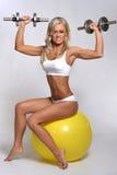 健身锻炼 免版税图库摄影
