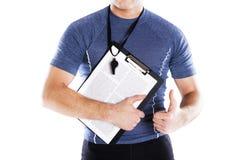 健身画象 免版税图库摄影
