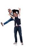 偶然二个年轻人 免版税图库摄影