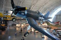 偶然发生Vought F4U海盗/空气和太空博物馆 免版税图库摄影