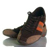偶然现代鞋子 免版税图库摄影