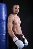 偶然的拳击手 免版税库存照片