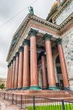 偶象圣徒以撒的大教堂在圣彼德堡,俄罗斯 免版税库存照片