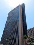 偶象地标第一个夏威夷大厦在街市檀香山 库存照片