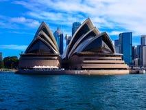偶象悉尼歌剧院,悉尼,澳大利亚 免版税库存照片