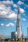 偶象碎片大厦在伦敦 免版税库存图片
