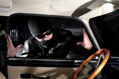 偷车贼 库存图片