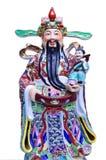 傅Lu Shou雕象用中文寺庙 库存图片