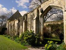 储放什一税农产品的仓库Sudeley城堡Winchcombe Cotswolds 库存照片