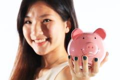 储款概念 免版税图库摄影