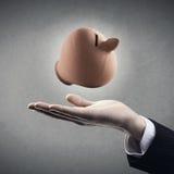 储款计划使简单 免版税库存图片