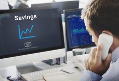 储款预算财产财务收入金钱概念 库存照片