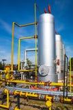 储油和管道 免版税库存照片