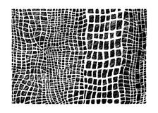 储蓄传染媒介手拉的摘要Ð ¡ rocodile皮肤模仿 图库摄影