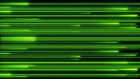 储蓄英尺长度美丽的颜色雨霓虹照亮的数字设计观念动画4K圈 股票录像