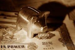储蓄 免版税库存图片