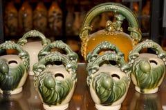 储dau陶瓷产品,越南 免版税库存图片