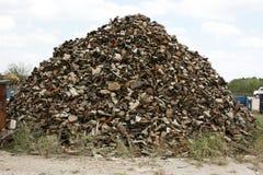 催化转化器回收 免版税库存图片