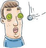 催眠状态眼睛 免版税图库摄影