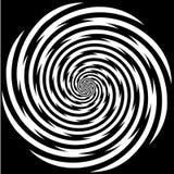 催眠状态螺旋 免版税库存照片