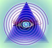 催眠状态 免版税库存照片
