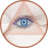 催眠状态 库存图片