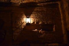 傲德萨地下墓穴一个非常美好的地方 库存图片