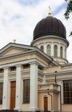 傲德萨大教堂,乌克兰 免版税库存图片