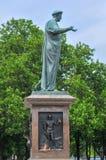 傲德萨,乌克兰公爵Richelieu -雕象  免版税图库摄影
