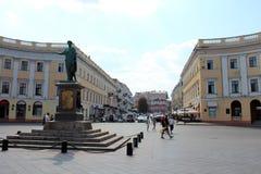 傲德萨,乌克兰城市视图  免版税库存照片