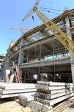 傲德萨,乌克兰- 2011年8月13日:一独特的高科技constructi 免版税库存照片
