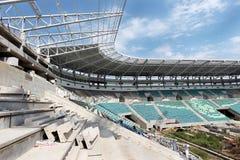 傲德萨,乌克兰- 2011年8月13日:一独特的高科技constructi 免版税库存图片